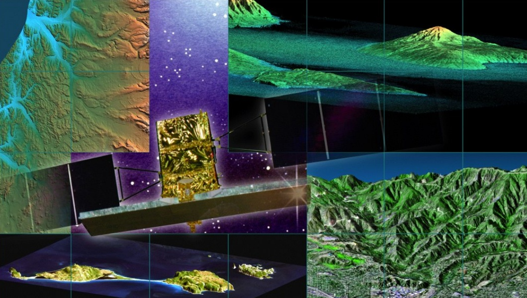 Una raffigurazione artistica di COSMO-SkyMed - (C) ASI
