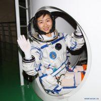 Liu Yang, la prima astronauta cinese (Credit: Xinhua/Qin Xian'an)