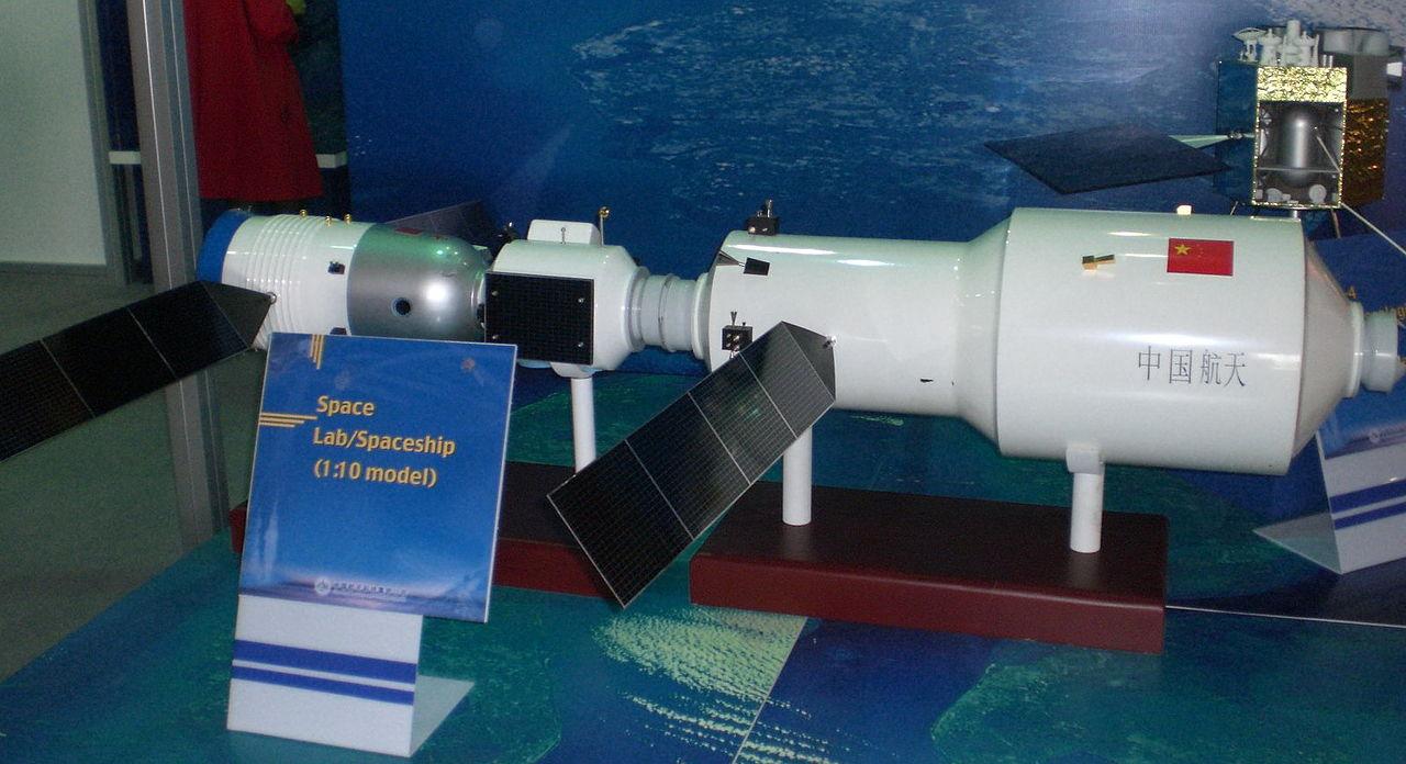 Un modello del Tiangong-2