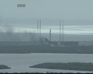 La rampa SLC-40 alle 16.40 italiane. (C) NASA