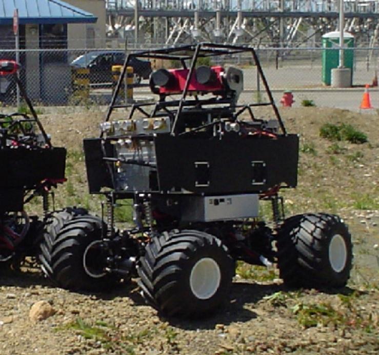 Il veicolo MAX5A in configurazione standard