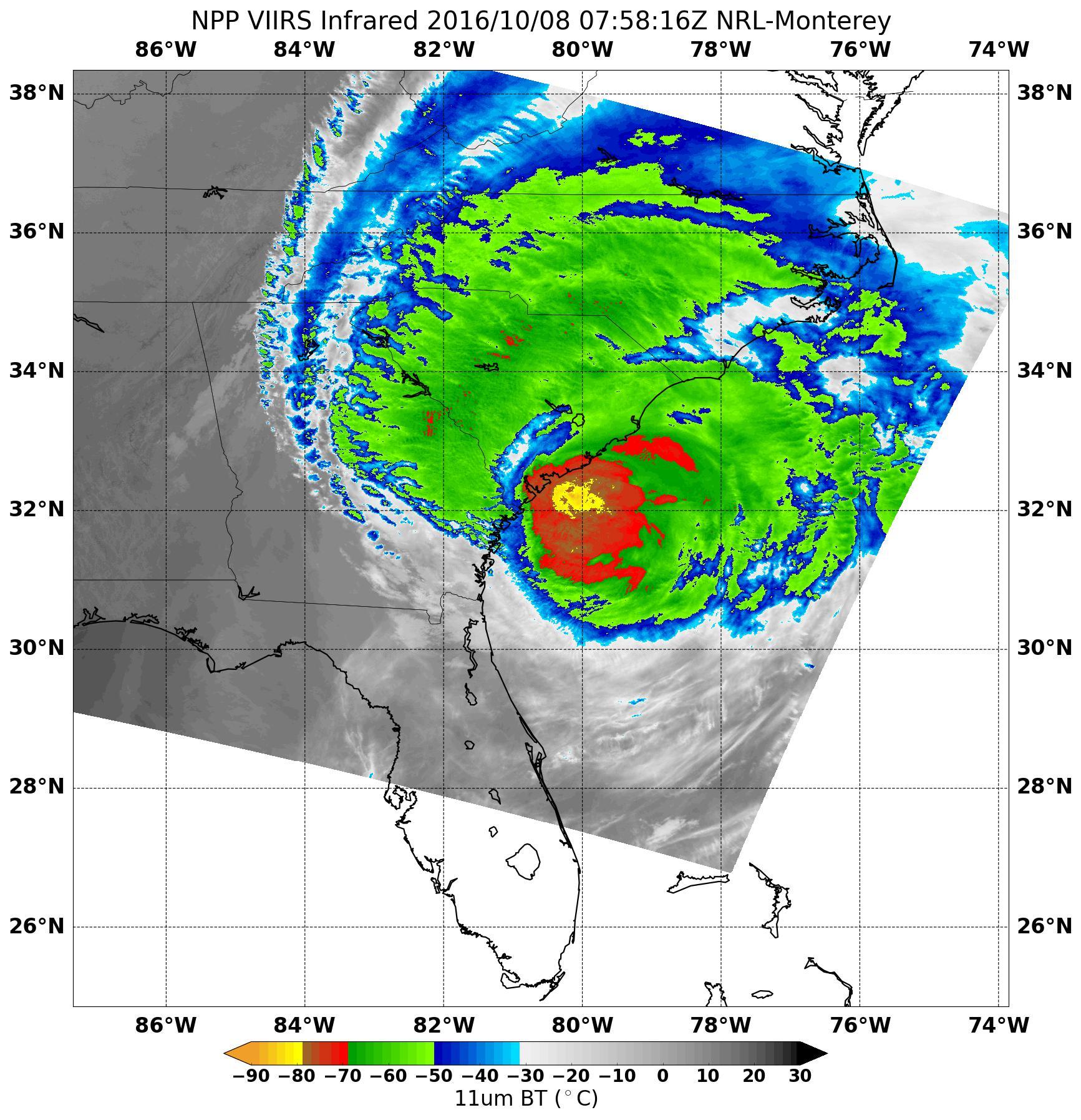 L'uragano Matthew colpisce anche Cape Canaveral