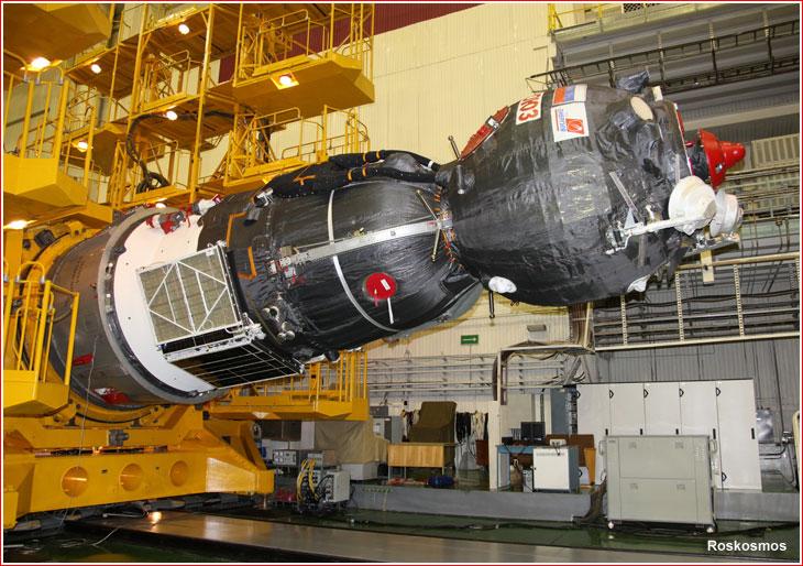 Riparazione eseguita, ora la Soyuz MS-02 è pronta al lancio