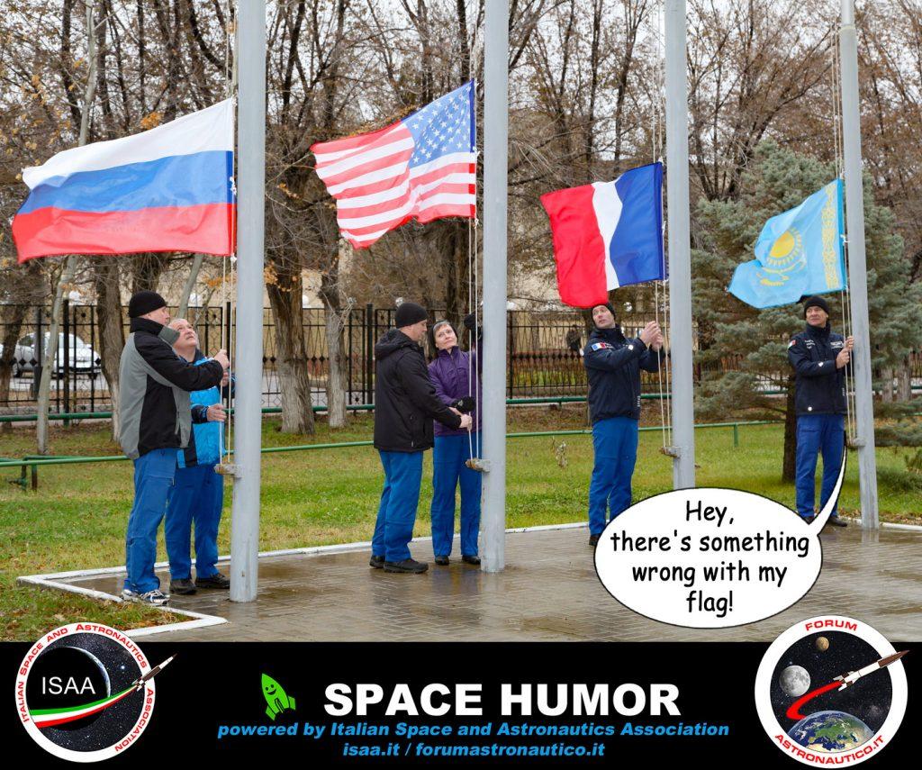 La bandiera sbagliata Credit: Riccardo Rossi
