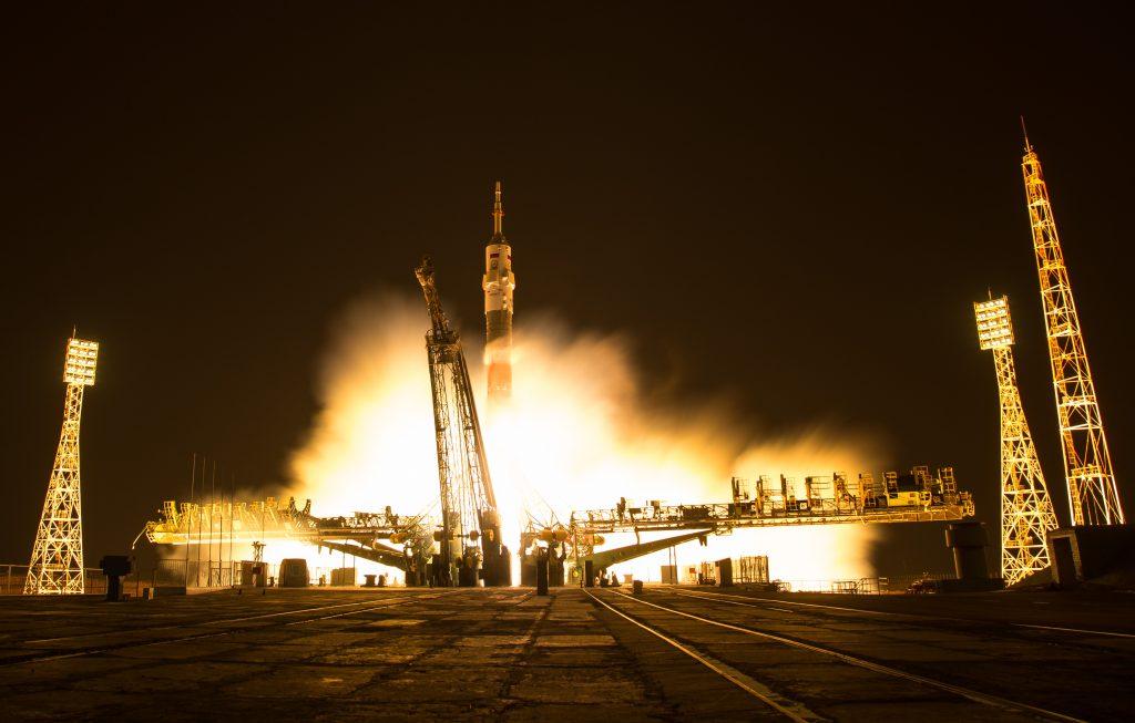 Il decollo della Soyuz MS-03. Credit: NASA/Bill Ingalls