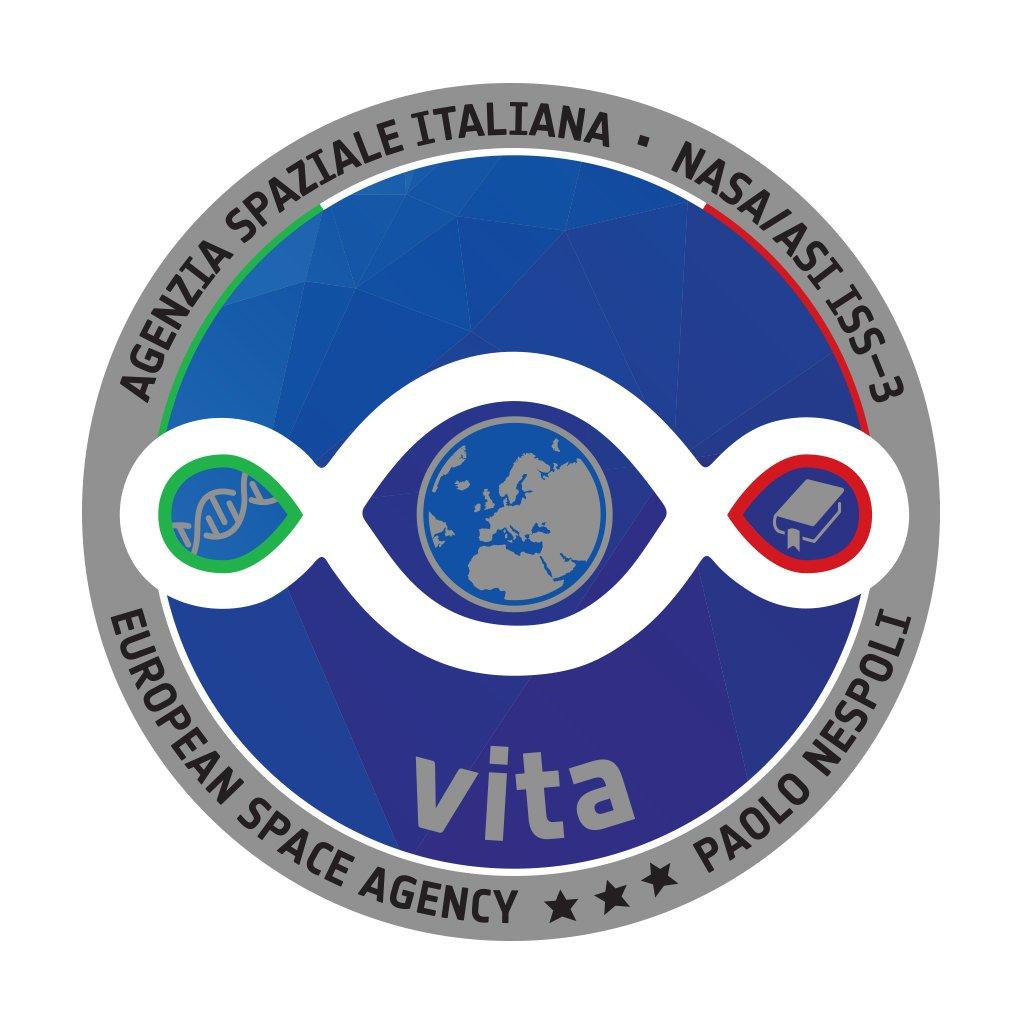 Il logo della terza missione dell'Astronauta ESA Paolo nespoli.