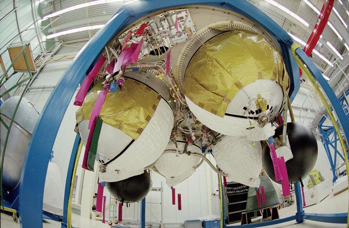 Storable Propellant Stage dell'Ariane 5 (C) ESA