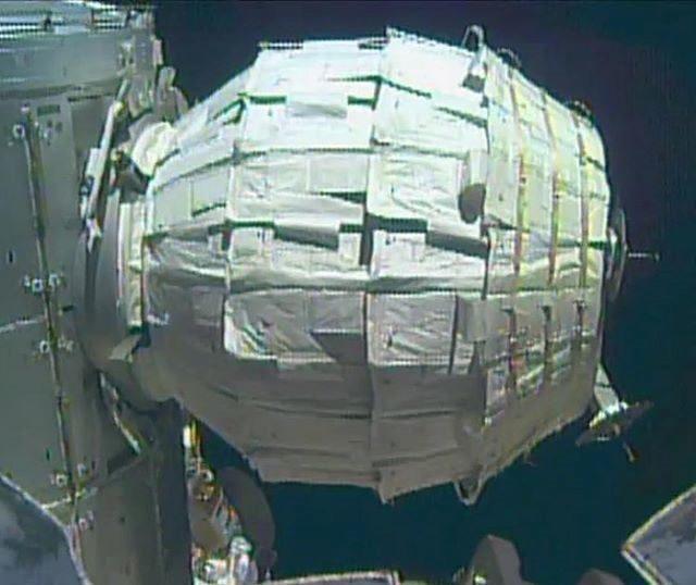 Modulo BEAM. Credit: NASA