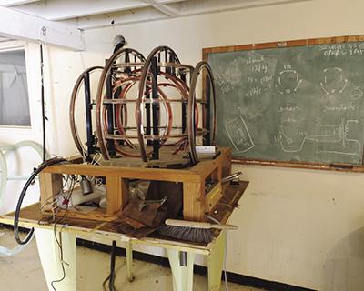 Le bobine di Helmholtz sono usate per modificare il campo magnetico terrestre
