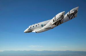 Space Ship Two. Credit: Virgin Galactic
