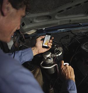 Il modulo Therma rileva temperature a distanza ed è risultato molto popolare tra le applicazione di manutenzione dell'auto e per monitorare l'ambiente casalingo.