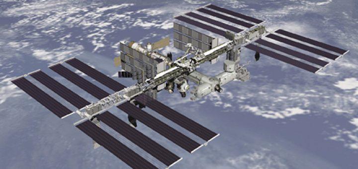 I pannelli solari della ISS