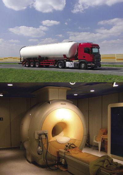 Serbatoio per il trasporto di gas liquefatti criogenicamente.