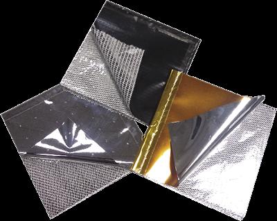 Pellicole Dunmore create dalla combinazione di vari materiali per creare un isolante multistrato con caratteristiche specifiche.