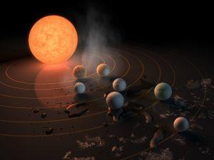 Sette pianeti di tipo terrestre individuati a 40 anni luce dalla Terra