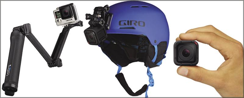 L'azienda GoPro usa estensivamente i sensori CMOS per le sue videocamere. Fonte: NASA