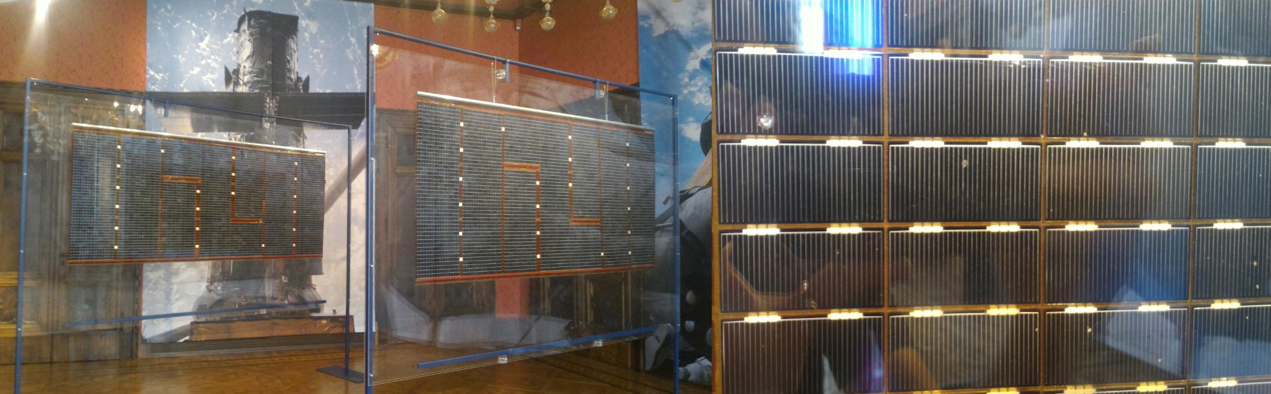 I pannelli solari originali di Hubble