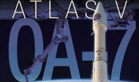 Poster di missione Cygnus OA-7 - ULA Launch