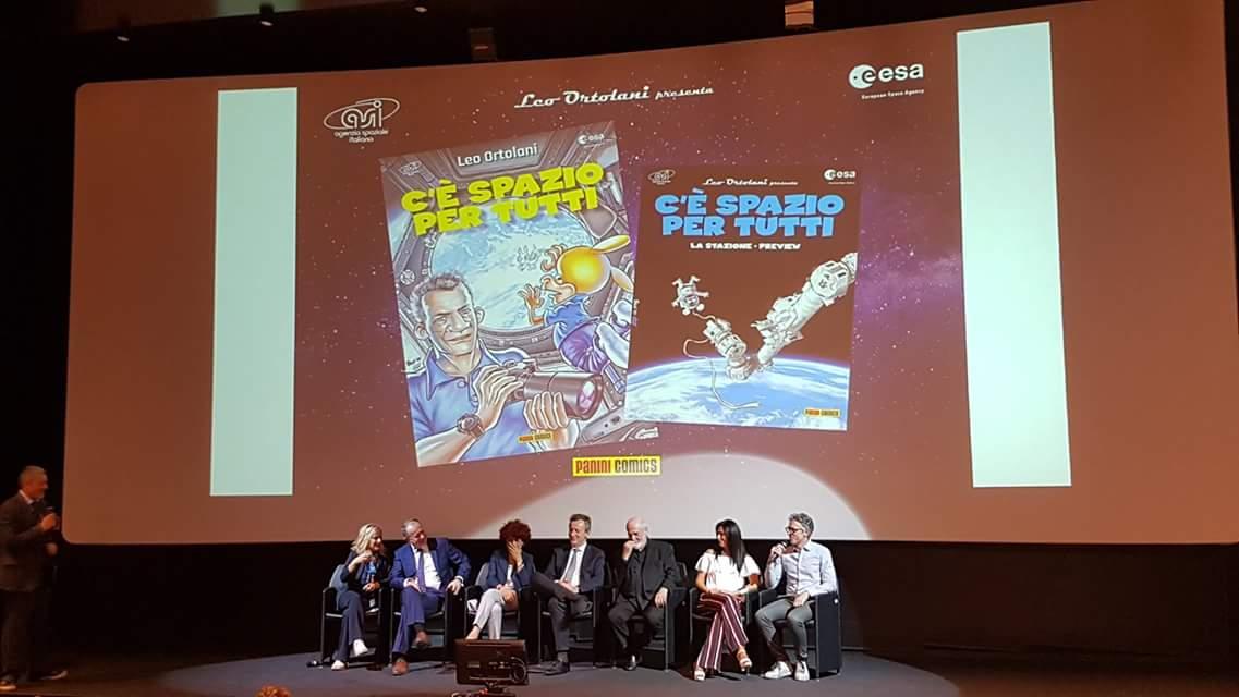 """Presentazione del fumetto """"C'è Spazio Per Tutti"""" del vignettista Leo Ortolani. Foto: Gianpietro Ferrario"""