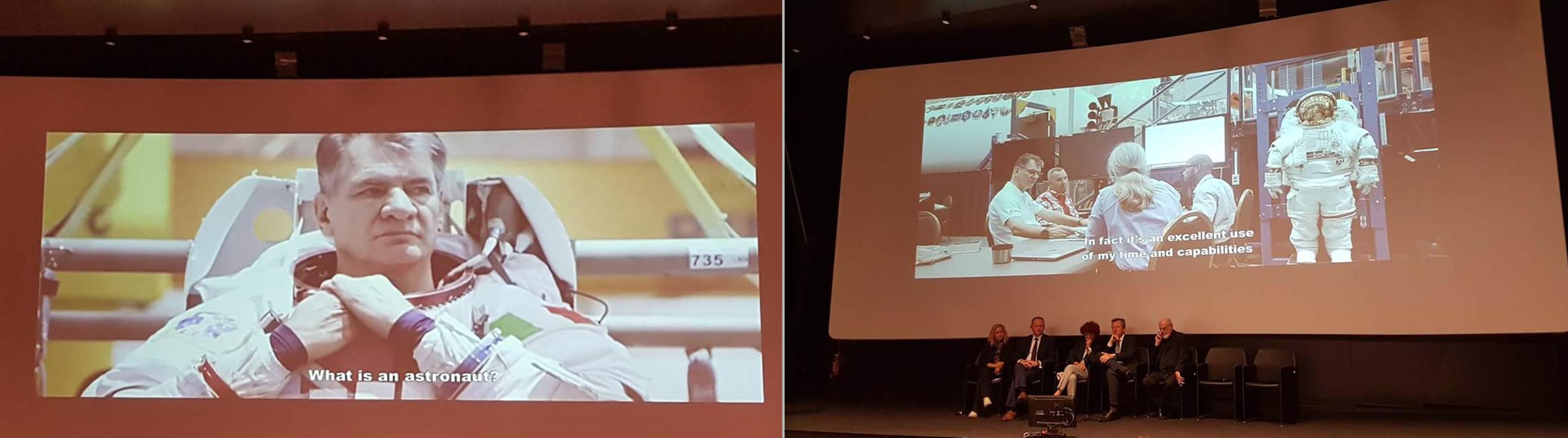 """Due scene tratte dall'anteprima del documentario """"Expedition"""" di Alessandra Bonavina. Foto: Gianpietro Ferrario"""