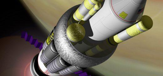 Una rappresentazione artistica del Progetto Orion Credits: NASA