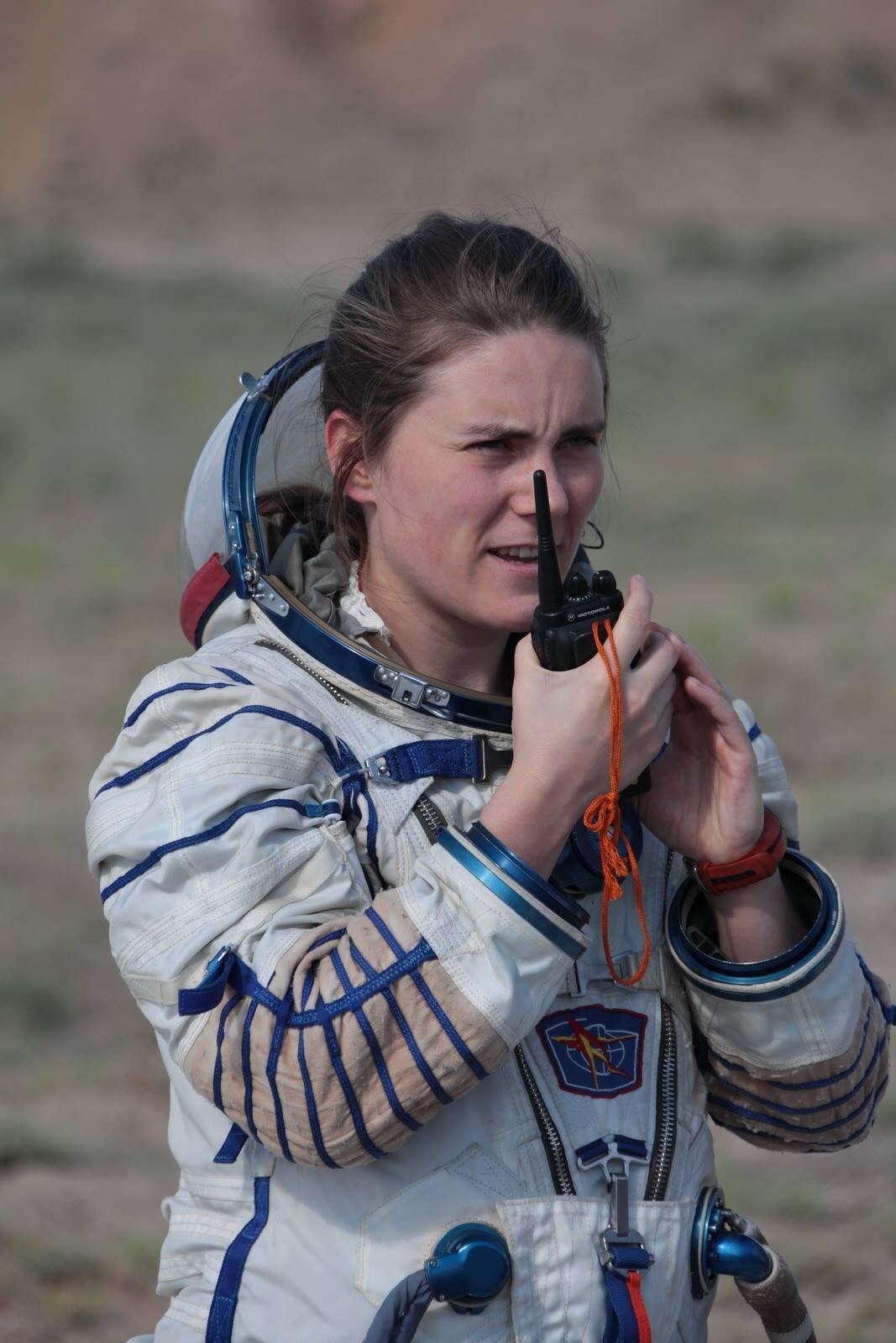 Анна Кикина, единственная женщина в отряде космонавтов России