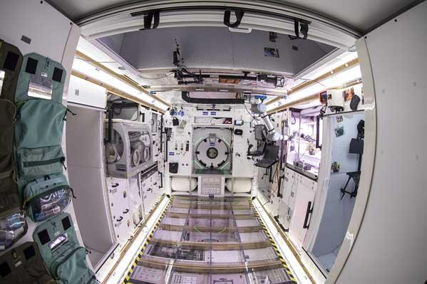 L'interno dell'Habitat Ground Test Article Credits: Lockheed Martin
