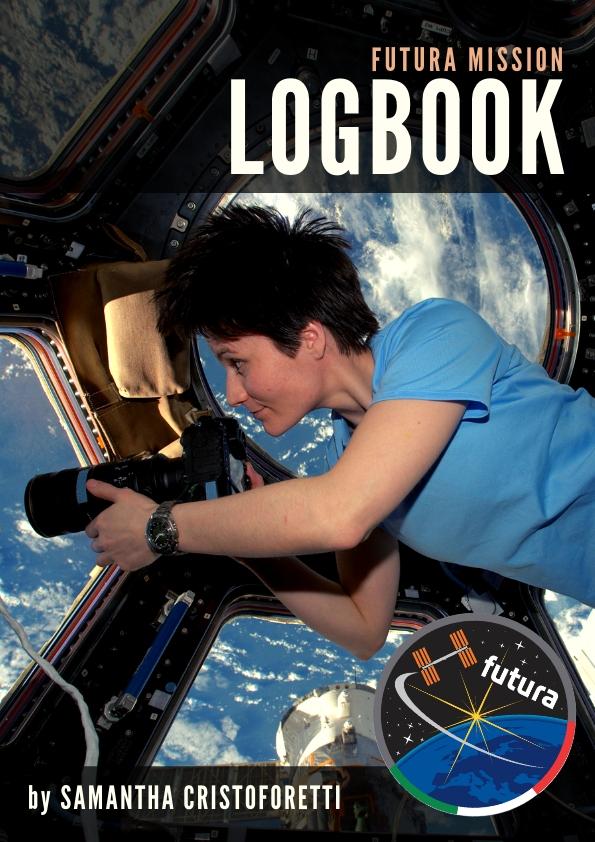La copertina dell'ebook Futura Mission Logbook. Credit: Carlo Gandolfi
