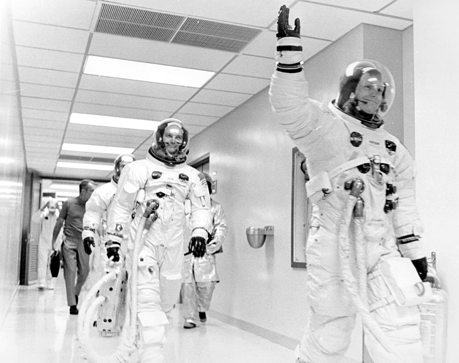 L'attimo fuggente: cinquant'anni fa l'uomo sulla Luna