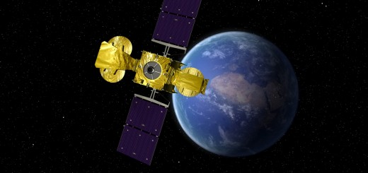 The Hylas-1 telecommunications satellite will operate from from geostationary orbit