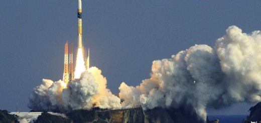 Japan's H-IIA rocket lifts off from the