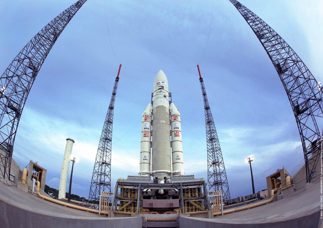 Serve un vettore? Arianespace e' disponibile