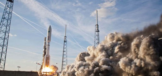 Launch of Atlas V MUOS