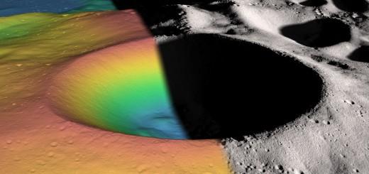 LRO - Shackleton crater