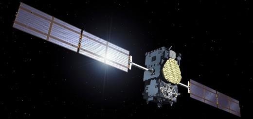 Artist's impression of the Galileo IOV satellite.