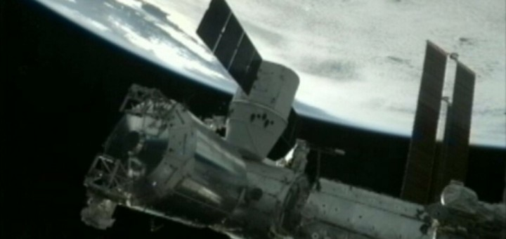 Dragon 1 alla ISS