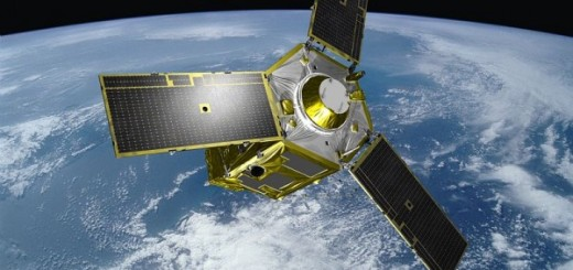Immagine artistica di un satellite Pléiades (C) ESA/CNES/EADS Astium
