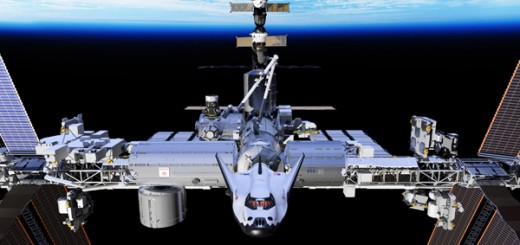 Dream Chaser docked ISS