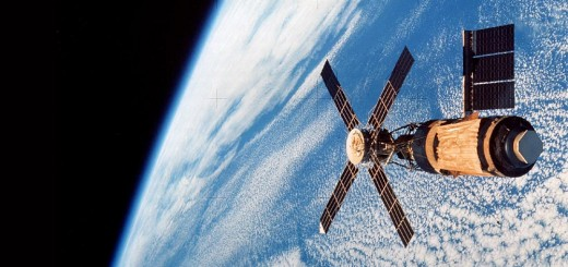 Lo Skylab. Fonte: NASA, scansione di Kipp Teague