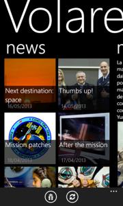 Volare ASI su Windows Phone. Fonte: Luca Di Fino