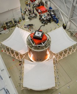 Orion SM Fairing Separation test