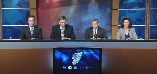 L'Expedition 36 Post-Spacewalk Briefing per la EVA-23 di Luca Parmitano e Chris Cassidy. Fonte: NASA