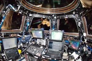 Configurazione di Cupola per la cattura di HTV-4. Fonte: NASA