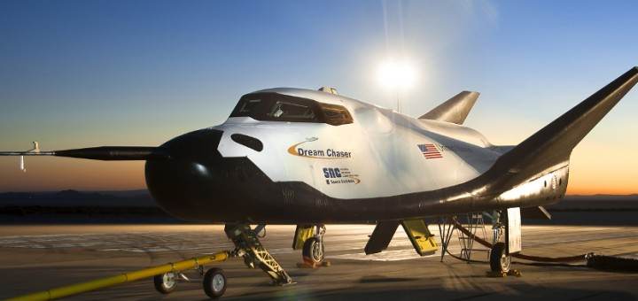 Il Dream Chaser prima dei Drop Test. Credit: NASA/Ken Ulbrich.