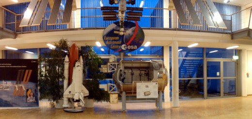 L'atrio dell'ESA EAC a Colonia. Fonte: Paolo Amoroso