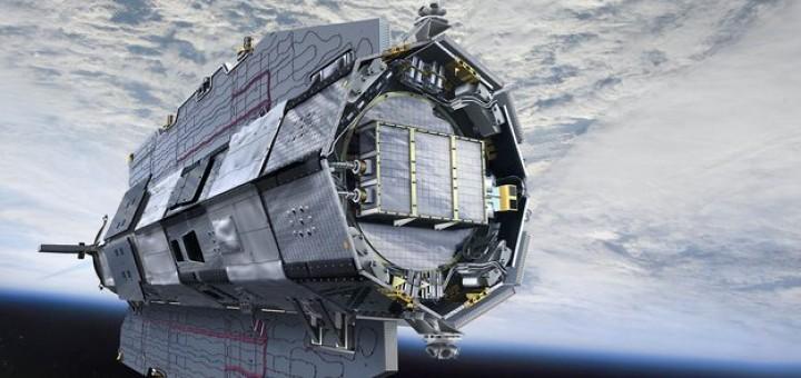 Il satellite GOCE dell'ESA. Credit: ESA.