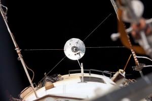 ATV-4 visto dalla ISS (NASA)