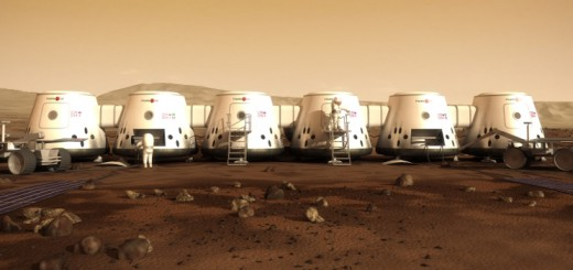 Mars One colonia