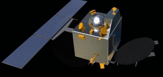 Rendering della sonda Mars Orbiter Mission. Credi: ISRO