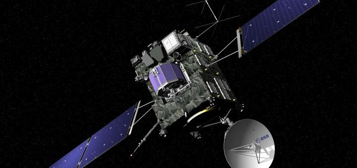 Artist view of ESA's Rosetta cometary probe. Credit: ESA - J. Huart